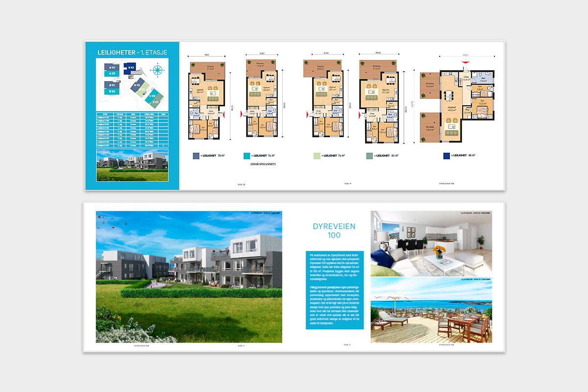 Prospekt boligprosjekt
