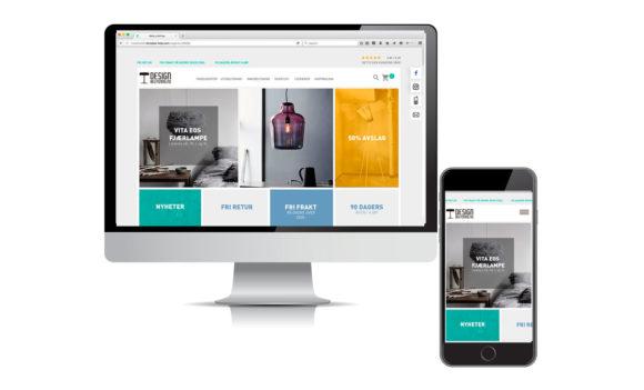 Nettside design-designbelysning